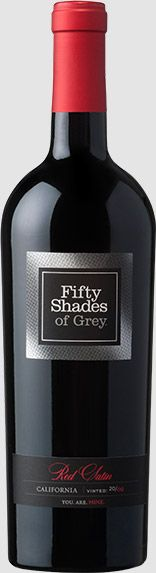 Fifty Shades of Grey Red Satin 2012