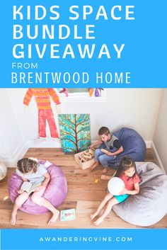 Kids Space Bundle Giveaway from Brentwood Home ~ $190 Value! @BrentwoodHomeLA - A Wandering Vine