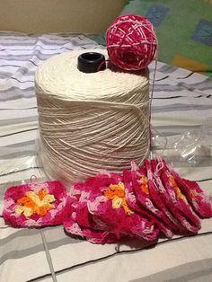 #croche#artesanato#linhas#barbante