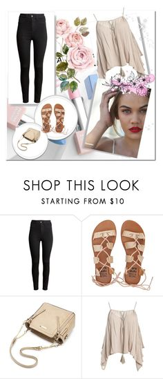 """:)"" by dzenana11 ❤ liked on Polyvore featuring H&M, Billabong, Sans Souci, Sephora Collection and Karlsson"