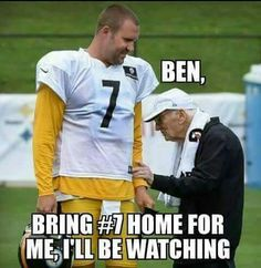 LET'S GET #7 IN HONOR AND RESPECT FOR DAN ROONEY