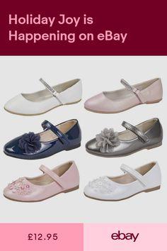 wholesale dealer ee0cd 2a966 Girls Shoes Clothes Shoes   Accessories  ebay Zapatos Para Niñas, Zapatos  De Fiesta,