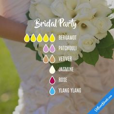 Bridal Party - Essential Oil Diffuser Blend