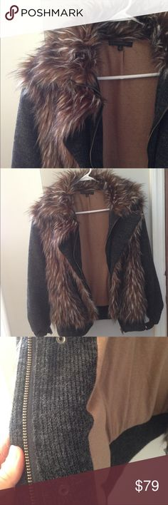 Lucca Couture faux fur coat Gorgeous and one-of-a-kind faux fur coat by Lucca Couture. Excellent condition. Jackets & Coats