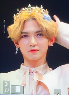 A little king, Kang Yeosang Yg Entertainment, K Pop, Steven Universe, Little King, You Are My Friend, Woo Young, Kim Minseok, Kim Hongjoong, Vogue Covers