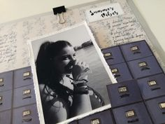 Conservando recuerdos. Keeping Memories Alive. Summer Vibes, Polaroid Film, Memories, Projects, Souvenirs, Remember This