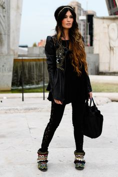 """Manoush Jackets, Loewe Bags, Urban Outfitters Pants 