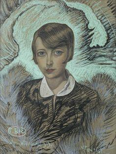 Witkacy: Stefania Tuwimowa, 25.02.1929, pastel, papier 49 x 65 cm