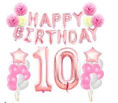 Items similar to Birthday Decorations Birthday Party Supplies Happy birthday Banner Girls Birthday Party on Etsy Happy Birthday Kids, Birthday Quotes For Me, 10th Birthday Parties, Happy Birthday Banners, Birthday Decorations, Birthday Wishes, Girl Birthday, Fabulous Birthday, Free Birthday