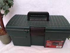 "$9.96 or best offer Popular Mechanics 16"" Tool Box w/Tray #PopularMechanics"