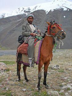 Wakhan horseman, Wakhan Corridor Tajikistan  Afghan Images Social Net Work:  سی افغانستان: شبکه اجتماعی تصویر افغانستان http://seeafghanistan.com