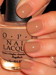 OPI San Tan-tonio = My fall nail color