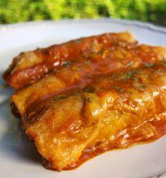 Beef and Bean Enchiladas #CincoDeMayo