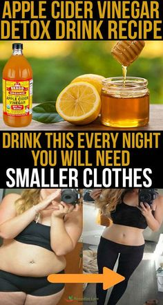 Apple Cider Vinegar Detox Drink Recipe Drink This Every Night – You Will Need Smaller Clothes &; Apple Cider Vinegar Detox Drink Recipe Drink This Every Night – You Will Need Smaller Clothes &; Apple Cider Detox Recipe, Apple Cider Vinegar Detox, Organic Apple Cider Vinegar, Detox Kur, Detox Cleanse Drink, Smoothie Detox, Liver Detox, Apple Cider Vinegar Remedies, Vinegar Detox Drink