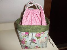 Special Custom Order Paris lunch tote For  by StitchedNaturally