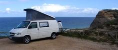 A homemade Volkswagen pop top camper van conversion using parts from the well known German company serving DIY projects and doing their own conversions - Reimo.
