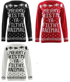 NEW LADIES WOMENS MENS XMAS JUMPER CHRISTMAS UNISEX NOVELTY KNITTED SWEATER WOOL #HOTRANGE #Jumpers