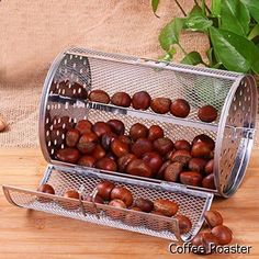 Coffee Roaster - MAYMII Beans Peanut Coffee Roaster Drum For BBQ Rotisserie Ovenware Capacity