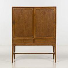 Hans J. Wegner (1914-2007), Cabinet, Chêne, Edition Michael Laursen, Date…