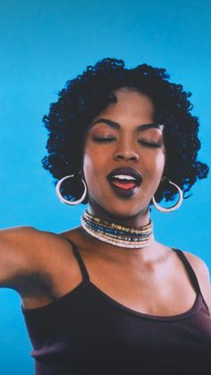 Black And White Picture Wall, Black And White Pictures, 90s Aesthetic, Black Girl Aesthetic, Black Girl Magic, Black Girls, Arte Hip Hop, Lauryn Hill, Pelo Afro