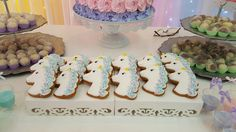 honey bread unicorn girly  baby shower