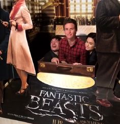 "eddie-redmayne-italian-blog: ""In and out from suitecase, in NYC today promoting Fantastic Beasts and ehere to Find Them. """