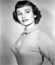 Film and TV actress Gloria Talbott was born today 2-7 in 1931. She started in films as a child actress and appeared in A Tree Grows in Brooklyn. Some of her other credits include All That Heaven Allows, We're No Angles (with Humphrey Bogart) and some of the 50s Sc. Fi films like The Cyclops. We saw her on TV shows like Sugarfoot, Gunsmoke, Perry Mason, Cimarron City, Wanted Dead or Alive, The Rebel, Rawhide and Bringing Up Buddy. She passed in 2000.