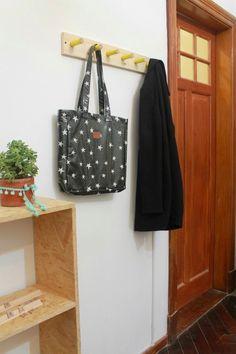 Perchero de pared | DIY • Experimento Casa