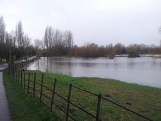 Flooding in #Witney #Oxfordshire today