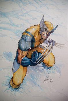 Wolverine  by Siya Oum