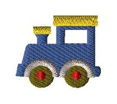 Mini Train - 3 Sizes! | What's New | Machine Embroidery Designs | SWAKembroidery.com Applique for Kids