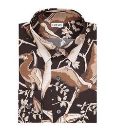 LOEWE Floral Shirt. #loewe #cloth #