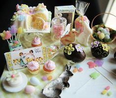 Betsy niederer miniature foods | The Mini Food Blog: Easter Table ~ Betsy Niederer