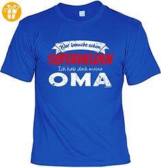 Oma Sprüche Tshirt - lustiges Funshirt Großmutter : ... Superhelden ... meine Oma -- Geschenk Geburtstag Oma T-Shirt Gr: XL (*Partner-Link)