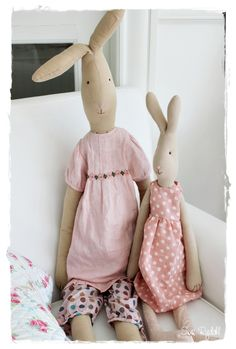 Maileg, So cute I can't decide which one is my favorite. At Haus Home and Gift in Sacramento Maileg Bunny, Fabric Toys, Sewing Toys, Little People, Sacramento, Handmade Toys, Easter Crafts, Doll Clothes, Sewing Projects
