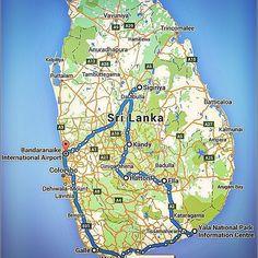 Sri Lanka in 21 Days - Route Planner  Round Tour Negombo Sightseeing | Catamaran Ride | Sigiriya Rock | Minneriya National Park  Jeep Safari | Polonnaruwa | Dambulla Rock | Kandy Sightseeing | Temple of the tooth | Botanical Garden | Train Journey | Tea Factory Visit | Trekking  Little Adams Peak | Jeep Safari  Yala National Park |Beach Stay | Galle Sightseeing  #SriLanka #21Days #Route #Planner #RoundTour #Negombo #Sightseeing #Catamaran #Ride #SigiriyaRock #Minneriya #National #Park…
