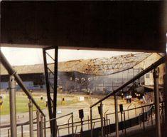 Eastville fire Bristol Rovers Fc, Football Stadiums, Britain, Nostalgia, Fire