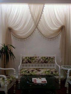 www.perdealemi.com Drapery, Valance Curtains, Curtain World, Apartment Renovation, Curtain Designs, Roman Blinds, Decoration, Window Treatments, Home Furnishings