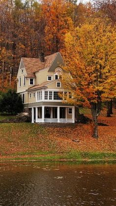 The perfect house in which to enjoy autumn...