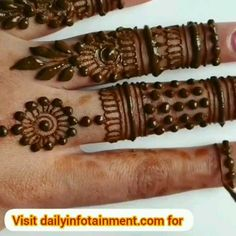 Great Totally Free pottery for beginners videos Concepts Modern Mehndi Designs, Mehndi Designs For Beginners, Mehndi Design Photos, Mehndi Designs For Fingers, Beautiful Mehndi Design, Latest Mehndi Designs, Mehndi Designs For Hands, Henna Tattoo Designs Arm, Simple Mehndi Designs