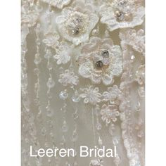#flower #embroidery #beading #pearl #detailing #wedding #weddingdress #fashion #style