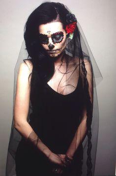 Creative imagery. DOTD. Sugar skull Bride.
