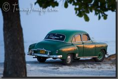 An antique Chevrolet at Playa Ancon (Cuba) - photo by Tommy Huynh