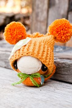 Orange Bird by Lue & Sue, via Flickr