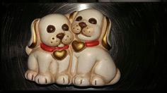 Magnete coppia di cagnolini