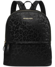 MICHAEL Michael Kors Animal Jacquard Backpack - MICHAEL Michael Kors - Handbags  Accessories - Macys