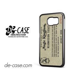 Disney World Readmission Ticket DEAL-3455 Samsung Phonecase Cover For Samsung Galaxy S6 / S6 Edge / S6 Edge Plus