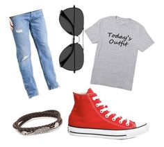"""Simple"" by cserebecca ❤ liked on Polyvore featuring Calvin Klein, Converse, EyeBuyDirect.com, Simon Carter, men's fashion and menswear"