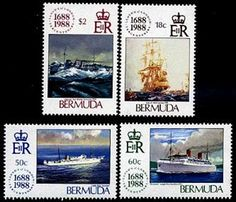 Bermuda Lloyds Stamps Postage Stamps, World, Stamps, The World