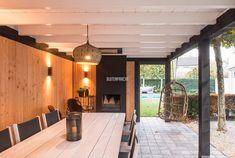 Outdoor Decor, Outdoor Kitchen Design, Outdoor Living, Garden Pavilion, House Styles, Pool Houses, Modern Garden, Wooden Gazebo, Outdoor Kitchen